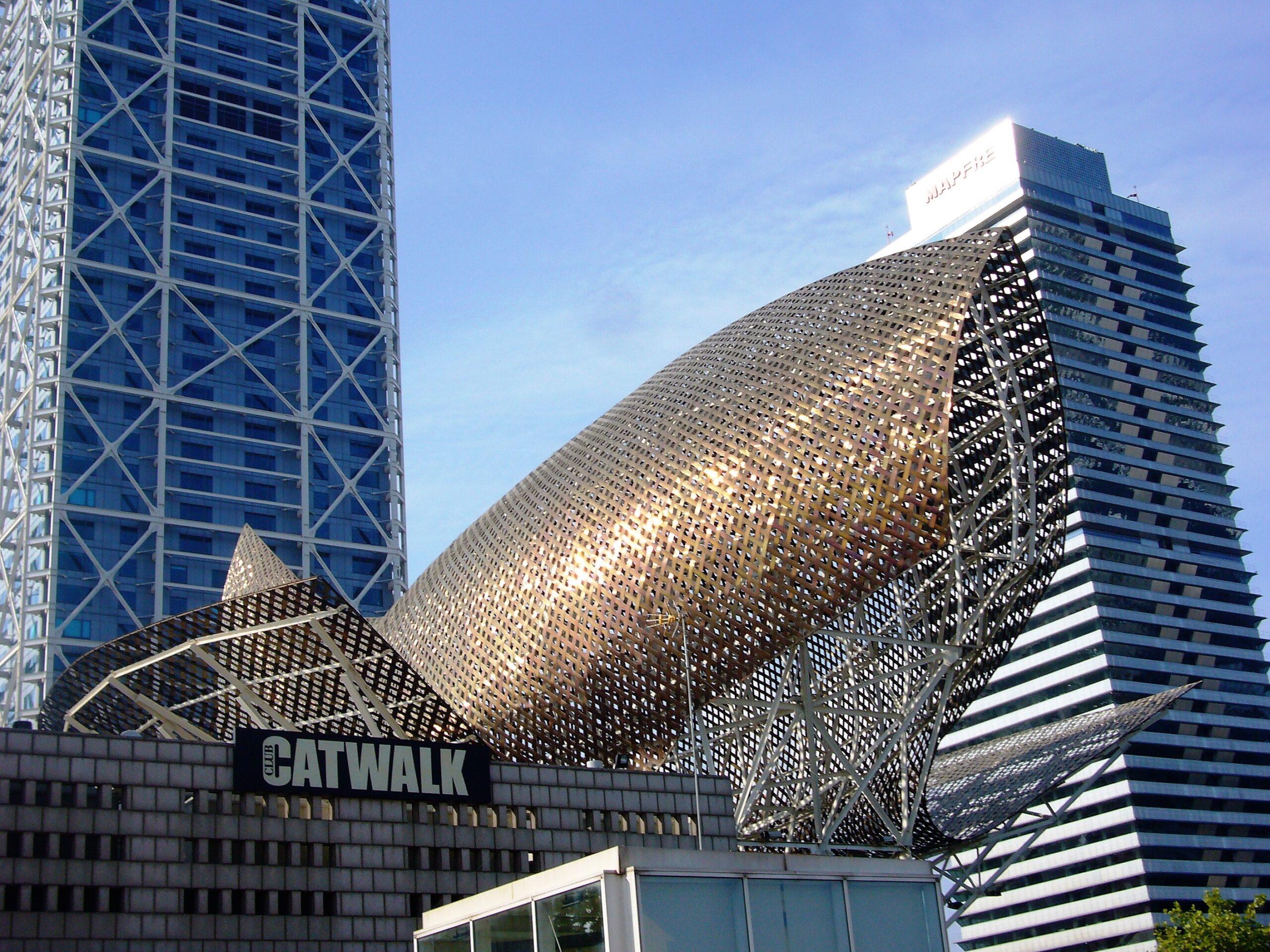 Frank O. Gehry, Fish (El Peix d'Or), Barcelona, 1992: Foto des Autors (2011)